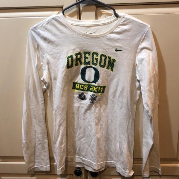 e905c84069fcb8 Nike Tops | University Of Oregon Long Sleeve | Poshmark